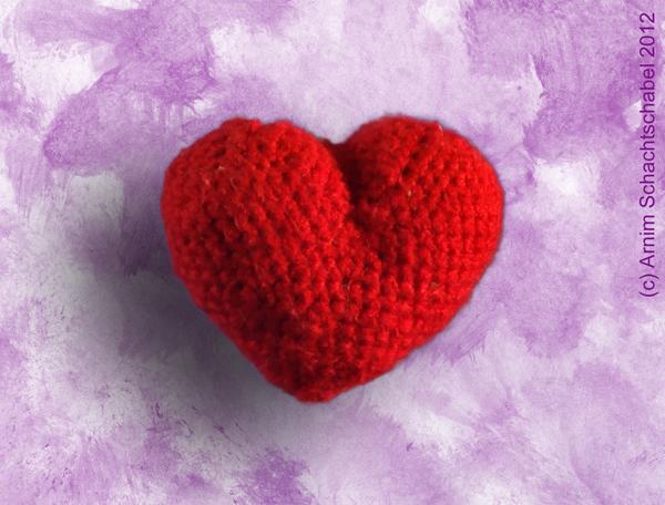 Amigurumi -- Ein Herz zum Häkeln